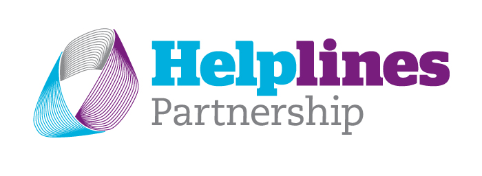Helplines partnership logo